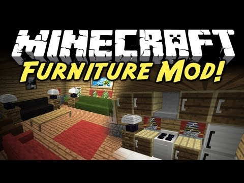 Minecraft Mod Showcase: Furniture Mod!