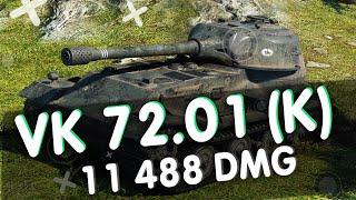 VK 72.01 (K) ДЕДЫ ПОБЕДИЛИ/11488 УРОНА/The_Power_of_Mind [OWNS] (World of Tanks)