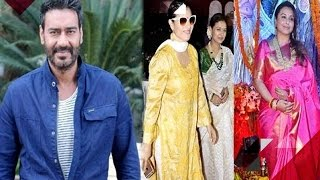 Ajay Had Planned To Sign A Pakistani Actor For 'Shivaay' | Kajol & Rani Celebrate Durga Pooja