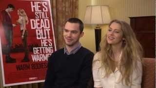 Cinemark Interviews Nicholas Hoult & Teresa Palmer for Warm Bodies
