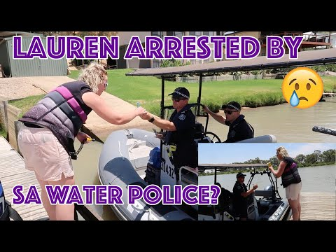 Arrested? Lauren Drug & Alcohol Tested By Water Police