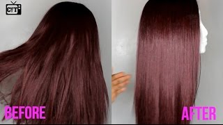 How To Maintain Synthetic Hair| Getting Rid Of Frizzy Ends & Tangles