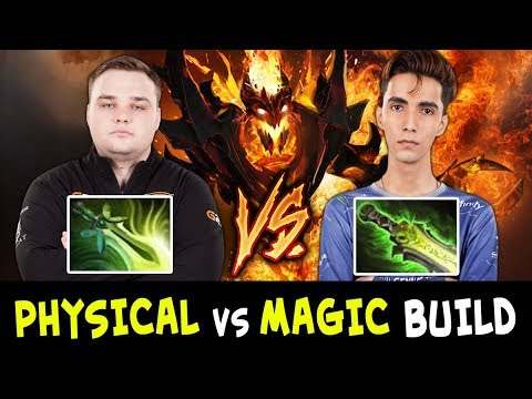 SumaiL vs Noone Shadow Fiend — MAGICAL vs PHYSICAL DPS BUILD