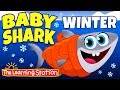 Baby Shark Winter Song Original Version Winter Song Camp Songs For Kids The Learning Station mp3