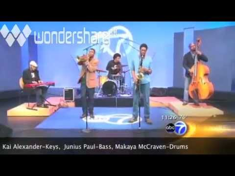 """Maurice Brown """"Merry Go Round"""" ABC Morning Show 2010"""