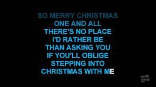Step Into Christmas In The Style Of Elton John Karaoke Audio