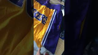 Los Angeles Lakers Shorts ( NBA ) lebron shorts just don Lakers short