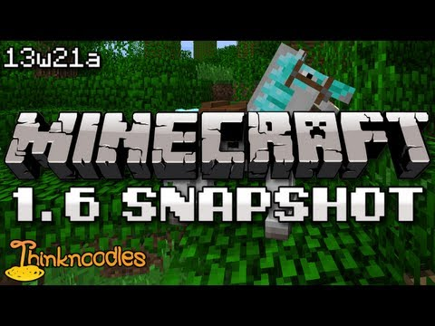 Minecraft 13w21a Snapshot: New Horse UI, Attribute System
