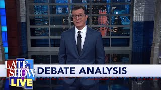 Stephen Colbert Breaks Down The 5th Democratic Presidential Debate