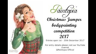 Christmas Jumper Bodypainting Competition 2017 Information | Paintopia