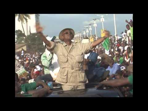 Campagne 2015 - Retour triomphal de Cellou Dalein à Conakry