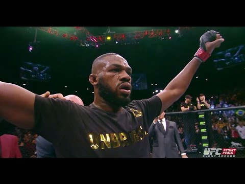 UFC 182: Jon Jones Backstage Interview