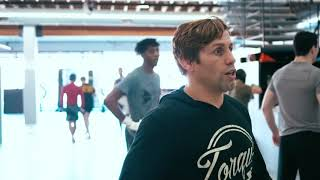 TEAM ALPHA MALE - Pro practice run by Urijah Faber