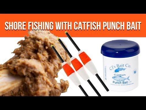 Bank Fishing Catfish (Shore Fishing) With CJs Catfish Punch Bait