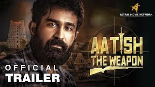 AATISH THE WEAPON - ANNADURAI - Hindi Official Trailer | Vijay Antony |