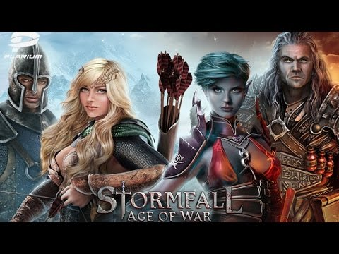 Stormfall: Age of War Gameplay - Free Strategy Browser Game