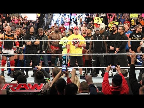 The Authority addresses the WWE roster: Raw, January 5, 2015