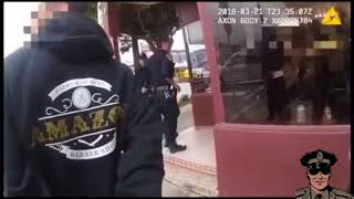 Crazy Shoot Out In Barbershop (Police Footage)
