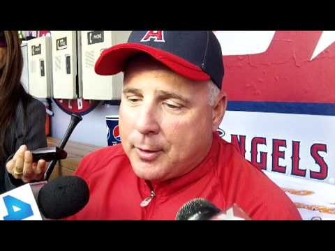 Mike Scioscia Opening Day Q&A