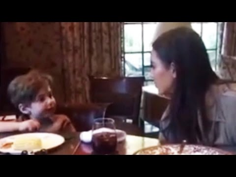 Kim Kardashian Gives PRICELESS Response To Toddler Who Asks Her Why She's Famous