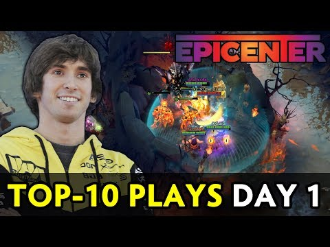 Top-10 plays of Epicenter — Day 1