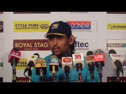 Tillakaratne Dilshan Post Match Interview - 2nd ODI Sri Lanka v South Africa 2014