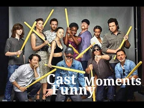The Walking Dead Cast Funny Moments