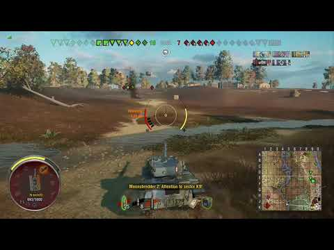 World of Tanks Console - Bat.-Châtillon 12 t (Bat-Chat) - Mastery Ace Tanker - Highway