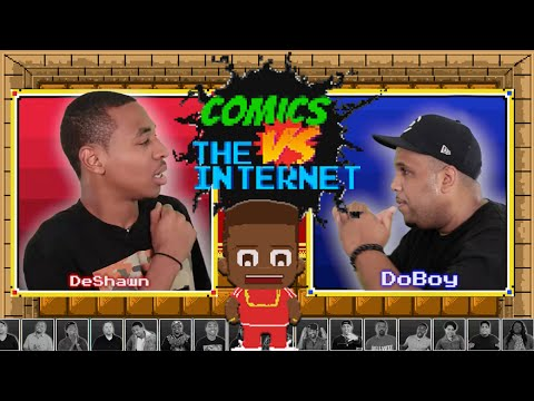 Deshawn Raw vs. DoBoy: Comics vs. The Internet Ep. 1
