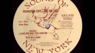 Otis Williams - I Love The Way You Love Me