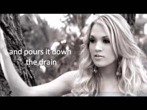 Carrie Underwood Wasted Lyrics