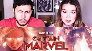 CAPTAIN MARVEL | Brie Larson | Trailer Reaction!