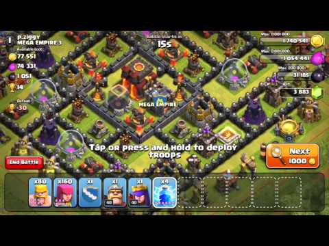 Clash of Clans - BARCH (Attack Strategy)