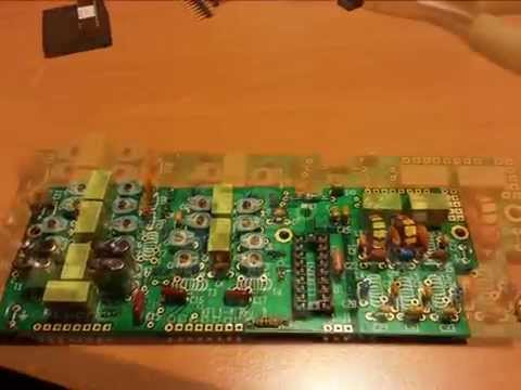Building my Elecraft K1 sn 3216