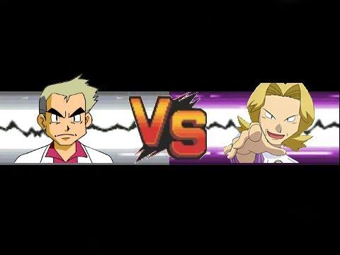 Pokemon: Professor Oak VS Agatha