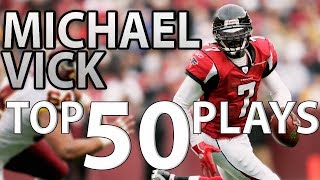 Michael Vick Top 50 Most Unbelievable Plays of All-Time  NFL Highlights