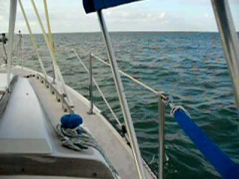 Perfect Sailing on Pine Island Sound, FL 4/18/09