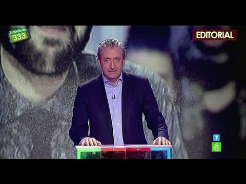Josep Pedrerol hace un editorial en 'Zapeando'