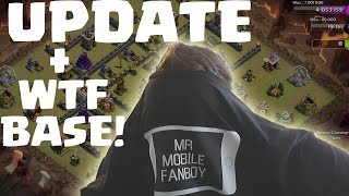 UPDATE LEVEL 7 TRUPPEN?!?! +WTF BASE! || CLASH OF CLANS || Let