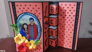 handmade birthday cards \love cards\how to make trifold card\diy birthday greeting cards