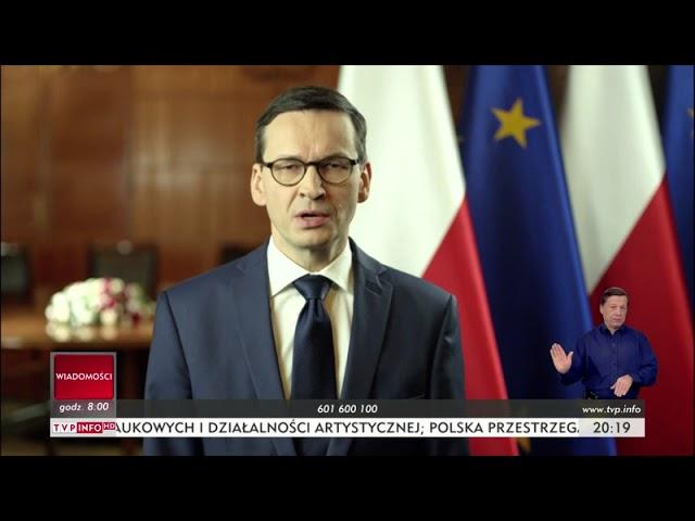 Orędzie premiera Mateusza Morawieckiego 01.02.2018