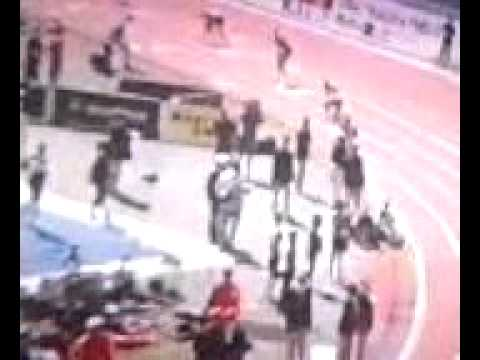 Asafa Powell  4*100  penn relays in philly April 30 2011