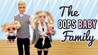 The LOL Oops Baby Family Goes Shopping in Barbie Doll Fashion Mall