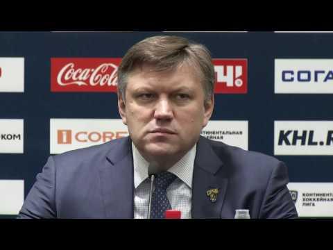 «Сочи» - «Спартак». Пресс-конференция тренеров