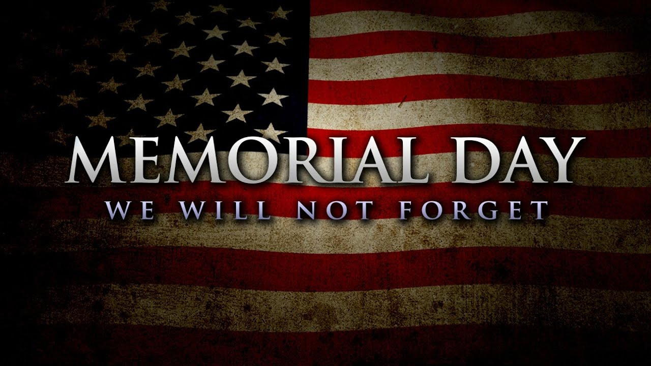 When is memorial day 2018
