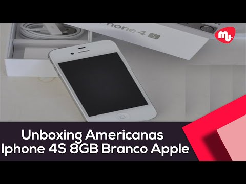 Unboxing Americanas - Iphone 4S 8G Branco - Apple