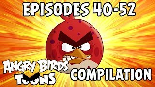 Angry Birds Toons Compilation | Season 1 Mashup | Ep40-52