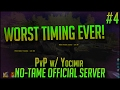 WORST TIMING EVER | Official PvP No-Tame Server w/ Yocimir | S2E4 - ARK Survival Evolved