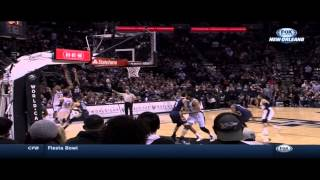 Omer Asik own goal Tim Duncan tip in at the buzzer to force OT: Pelicans at Spurs