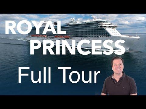 Royal Princess Review - Full Walkthrough - Cruise Ship Tour - Princess Cruises